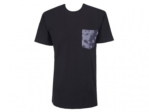 "Stranger ""Cloudy Pocket"" T-Shirt - Black"
