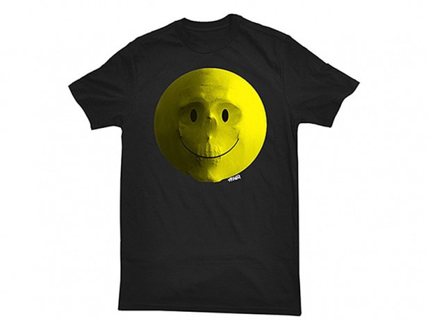 "Stranger ""Smile"" T-Shirt - Black"
