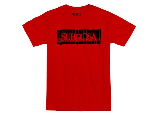 "Subrosa Bikes ""Copy"" T-Shirt - Red"