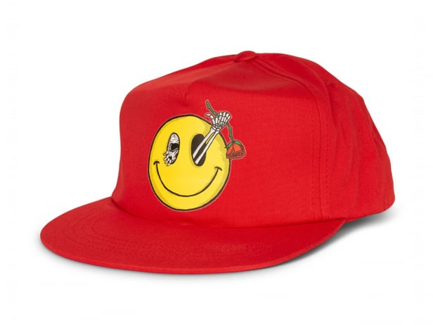 "Subrosa Bikes ""Evil Grin Snapback"" Cap - Red"