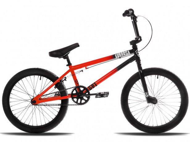 "Subrosa Bikes ""SB1"" 2018 BMX Rad - Black/Red"