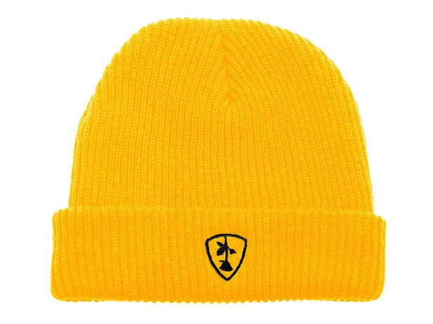 "Subrosa Bikes ""Shield"" Beanie - Yellow"
