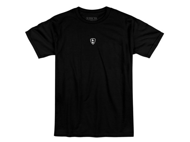 "Subrosa Bikes ""Shield Embroidered"" T-Shirt - Black"