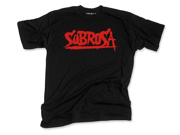 "Subrosa Bikes ""Splattered"" T-Shirt - Black"