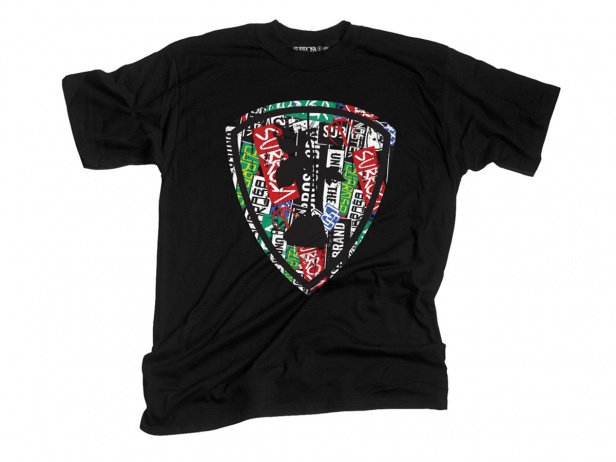 "Subrosa Bikes ""Sticker Bomb"" T-Shirt - Black"