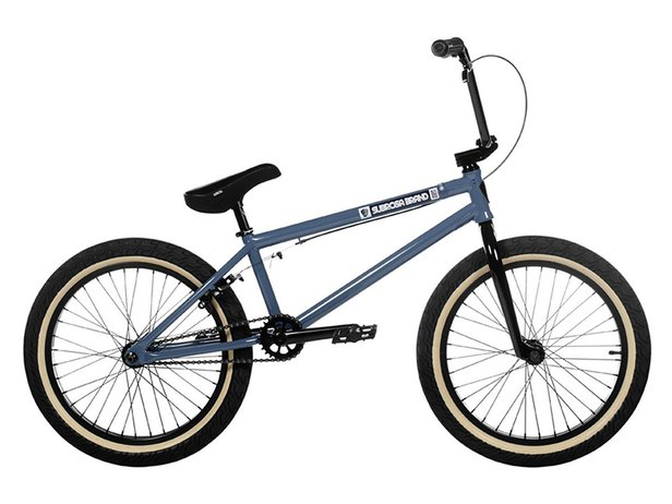 "Subrosa Bikes ""Tiro"" 2020 BMX Bike - Gloss Steele Blue"