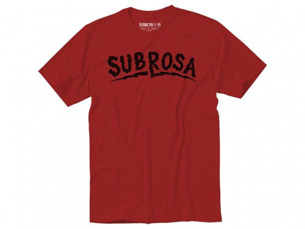 "Subrosa Bikes ""Voltage"" T-Shirt - Red"