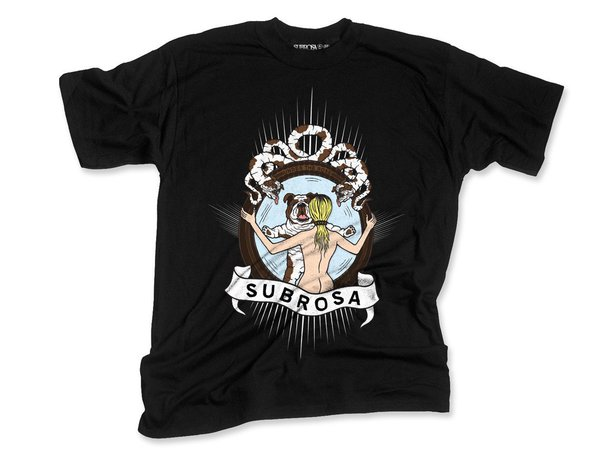 "Subrosa Bikes ""Wild Child"" T-Shirt - Black"