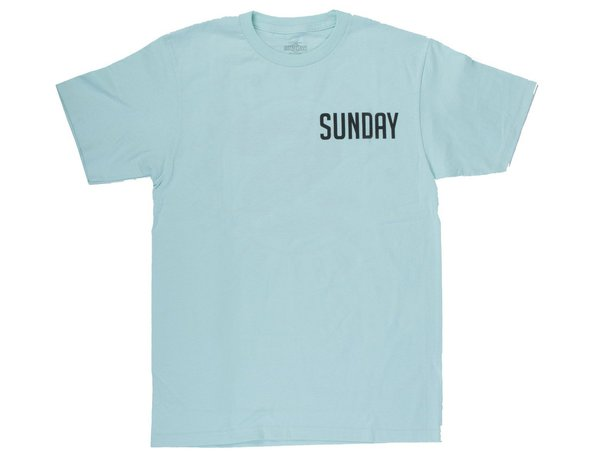 "Sunday Bikes ""Badge"" T-Shirt - Mint"