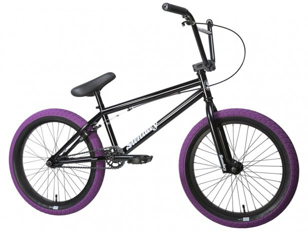 "Sunday Bikes ""Blueprint"" 2017 BMX Rad - Black/Purple"