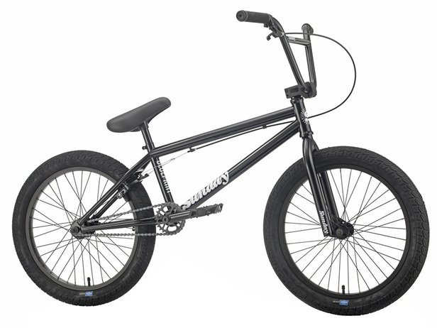 "Sunday Bikes ""Blueprint"" 2019 BMX Bike - Gloss Black"