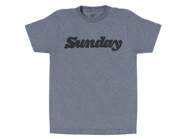 "Sunday Bikes ""Classy Marker"" T-Shirt - Heather Grey"