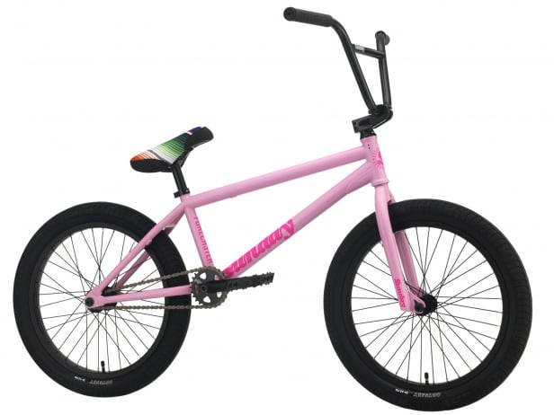 "Sunday Bikes ""Forecaster Aaron Ross"" 2021 BMX Rad - Matte Pale Pink 