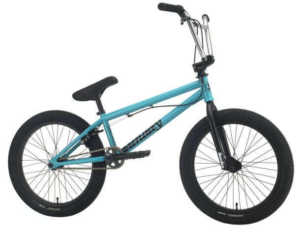 "Sunday Bikes ""Forecaster Park"" 2021 BMX Bike - Gloss Turquoise"