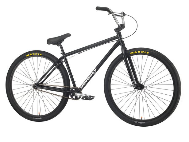 "Sunday Bikes ""High C 29"" 2020 BMX Cruiser Rad - Gloss Black 