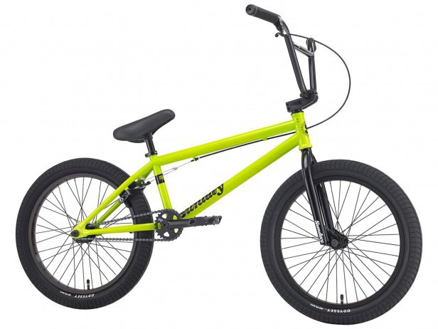 "Sunday Bikes ""Primer"" 2018 BMX Bike - Safety Green"