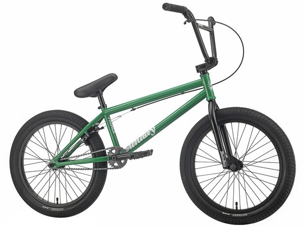 "Sunday Bikes ""Primer"" 2019 BMX Bike - Gloss Kelly Green"