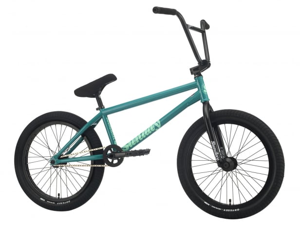 "Sunday Bikes ""Soundwave Special LHD Gary Young"" 2021 BMX Bike - Billiard Green 