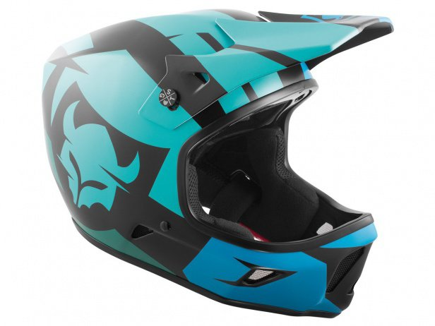 "TSG ""Advance Graphic Design"" Fullface Helmet - Interval-Green-Blue"