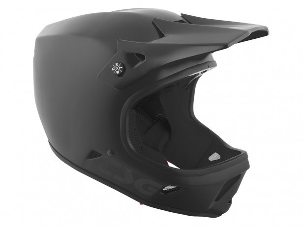 "TSG ""Advance Solid Colors"" Fullface Helmet - Satin Black"