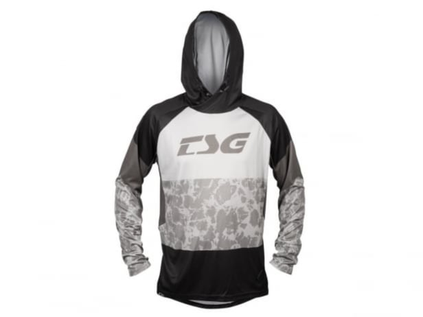 "TSG ""BE4 Jersey"" Hooded Longsleeve - Black"
