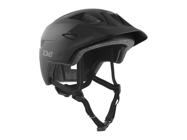 "TSG ""Cadete Youth Solid Color"" Helm - Satin Black"