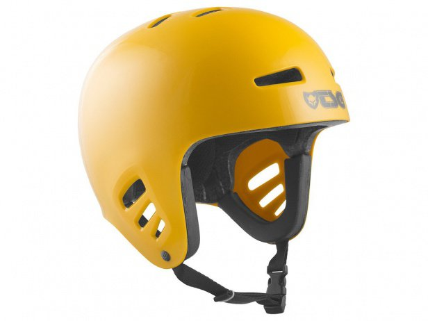 "TSG ""Dawn Solid Colors"" Helm - Mustard Yellow"
