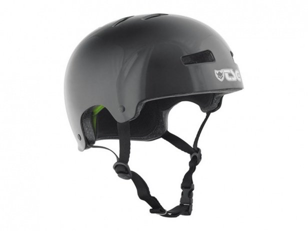 "TSG ""Evolution Solid Colors"" Helm - Injected Black"