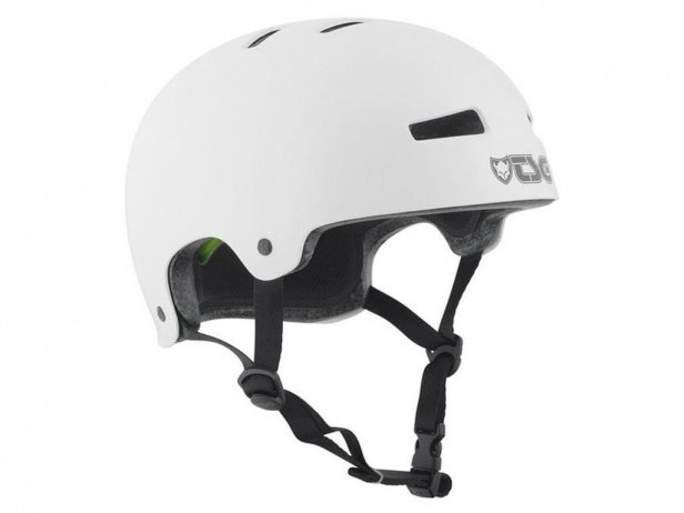 "TSG ""Evolution Solid Colors"" Helm - Injected White"