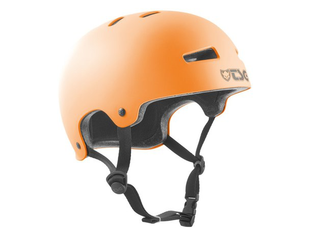 "TSG ""Evolution Solid Colors"" Helm - Satin Acid Orange"