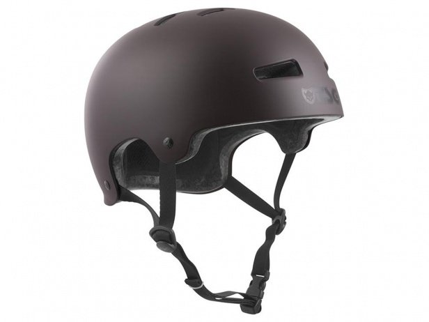 "TSG ""Evolution Solid Colors"" Helm - Satin Black Chocolate"