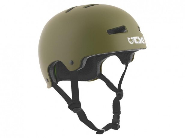 "TSG ""Evolution Solid Colors"" Helmet - Satin Olive"