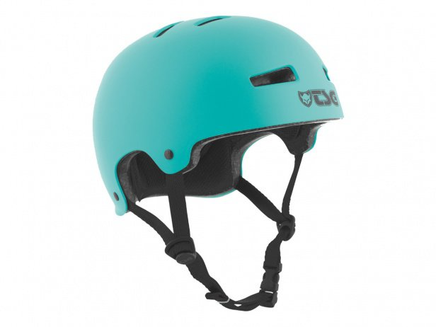 "TSG ""Evolution Solid Colors"" Helm - Satin Petrol"