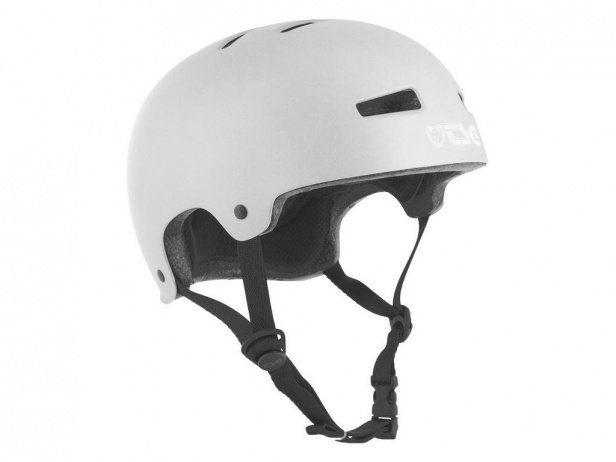"TSG ""Evolution Solid Colors"" Helm - Satin Silver"