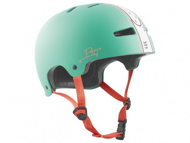 "TSG ""Evolution Women Pro Signature"" Helmet - Poppystarr"