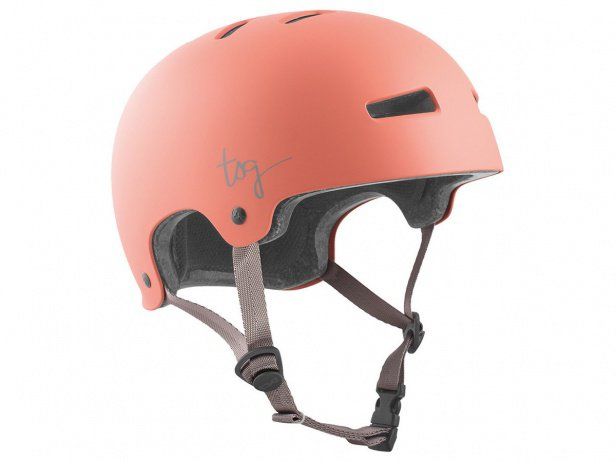 "TSG ""Evolution Women Solid Color"" Helmet - Satin Salmon"