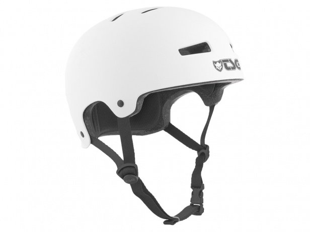 "TSG ""Evolution Youth Solid Color"" Helm - Satin White"