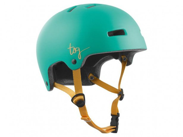 "TSG ""Ivy Women Solid Color"" Helmet - Satin Jade Turquoise"