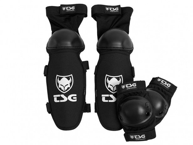 "TSG ""Junior-Bikeset"" Knee/Shin + Elbows Pads Set"