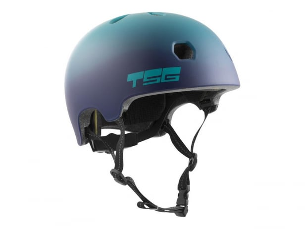 "TSG ""Meta Youth Graphic Design"" Helmet - Cauma Grape"