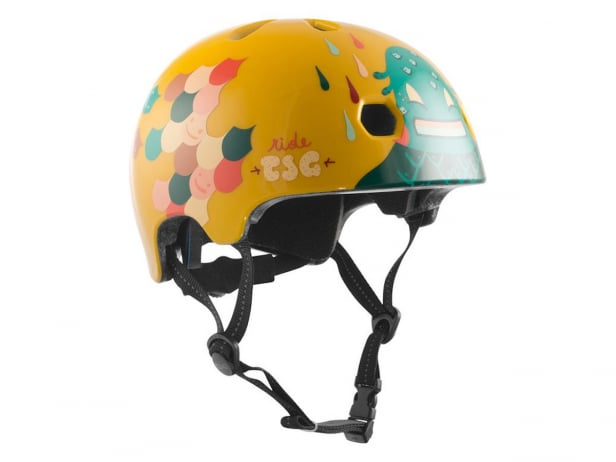 "TSG ""Meta Youth Graphic Design"" Helm - Happy Leaves"