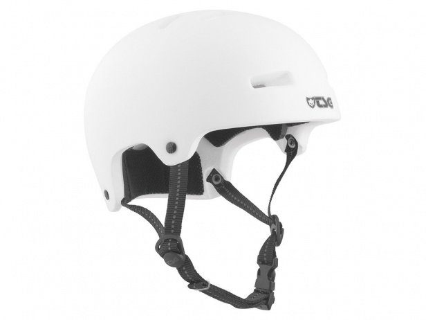 "TSG ""Nipper Maxi Solid Color"" Helmet - Satin White 