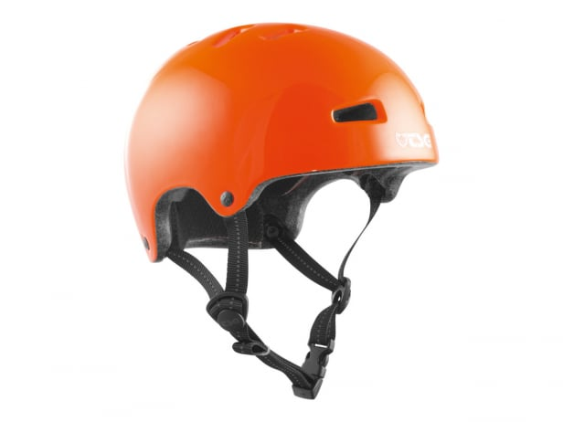 "TSG ""Nipper Mini Solid Color"" Helm - Gloss Orange"