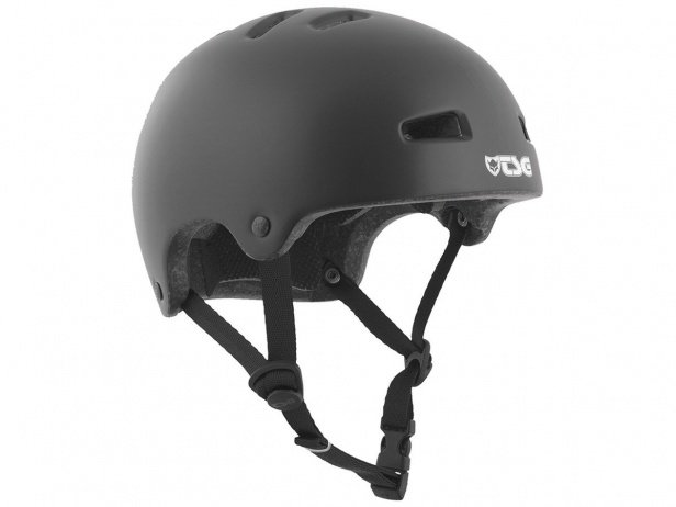 "TSG ""Nipper Mini Solid Color"" Helmet - Satin Black"
