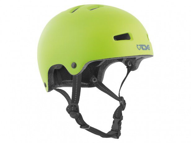 "TSG ""Nipper Mini Solid Color"" Helm - Satin Green"