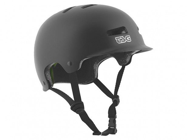 "TSG ""Recon Solid Colors"" Helm - Satin Black"