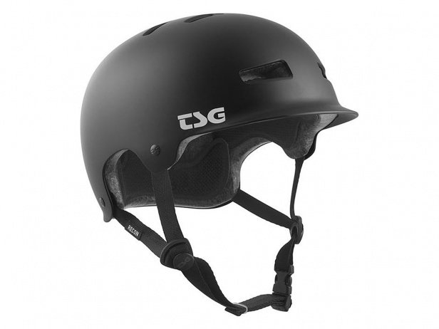 "TSG ""Recon Solid Colors II"" Helmet - Satin Black"