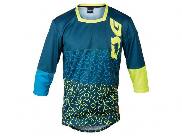"TSG ""SP2 Jersey"" 3/4 Longsleeve - Blue/Yellow"