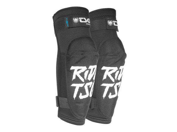 "TSG ""Scout A"" Elbow Pads - Ripped Black"
