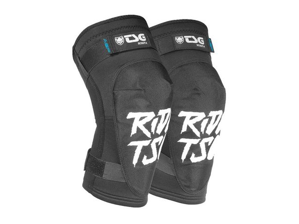 "TSG ""Scout A"" Knee Pads - Ripped Black"